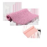 运动健身2件基础组合瑜伽垫(粉色)+速干巾(粉色-38*75cm)