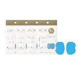 EMS随身低频智能按摩仪2驱按摩仪替换凝胶4盒