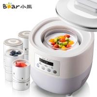 小熊(Bear)全自動可制冷酸奶機酸奶發酵菌 家用多功能母乳機迷你小冰箱米酒機 SNJ-L10A1