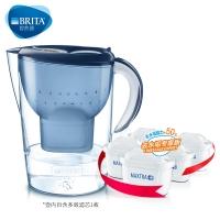 碧然德(BRITA)过滤净水器 家用滤水壶 净水壶 Marella 海洋系列 3.5L(蓝色)+专家版滤芯5枚 一壶六芯装