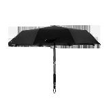 防潑水自動折疊晴雨傘黑色