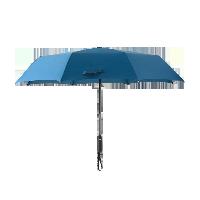 防潑水自動折疊晴雨傘藏青色