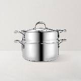 大容量三層鋼厚底蒸鍋 24cm24cm蒸鍋