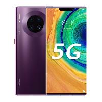 华为Mate30Pro5G版全网通手机 罗兰紫 8GB+256GB