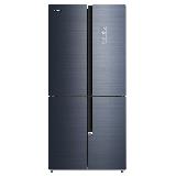 康佳 (KONKA )456升 玻璃面板 变频节能 风冷无霜 十字对开电冰箱 电脑温控 BCD-456WD4EBLP