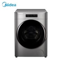 美的(Midea)滚筒洗衣机全自动 10公斤变频  新风祛味 M-smart智能系统 特色除菌洗 MG100T1WDQC