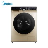 美的 (Midea)滚筒洗衣机全自动 洗烘一体机 10公斤变频 东芝DD直驱 除菌蒸汽洗 真丝柔洗 MD100KQ5