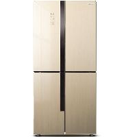 容声(Ronshen) 426升 十字对开门冰箱 风冷无霜 变频 纤薄 干湿分储 彩晶玻璃 BCD-426WD11FPCA
