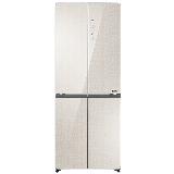 统帅(Leader)海尔出品 402升风冷无霜 彩晶变频 十字对开门冰箱 厨装一体 DEO净味 BCD-402WLDCJ