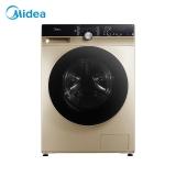 美的 (Midea)滚筒洗衣机全自动 洗烘一体机 10公斤变频 DD直驱静音 智能家电 除菌蒸汽洗  MD100KQ5