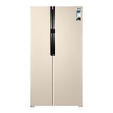 三星(SAMSUNG)565升大容量风冷无霜双循环双开门电冰箱 对开门 智能变频 金属面板RS55KBHI0SK/SC(金)