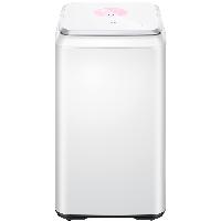 TCL 3公斤+0.8公斤 母婴迷你全自动波轮洗衣机 婴幼儿 宝宝儿童婴儿内衣小洗衣机 赠三通XQM30-520YSQ