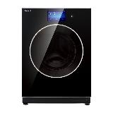 松下(Panasonic)全自动滚筒洗衣机10公斤 洗烘一体 纳米水离子 光动银除菌  智能  XQG100-SD128