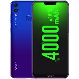 荣耀畅玩8C 移动联通电信全网通4G 全面屏智能老年老人手机 双卡双待 幻影蓝 4GB RAM+64GB ROM