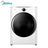 美的 (Midea)滚筒洗衣机全自动 洗烘一体机 10公斤变频 东芝DD直驱 祛味空气洗 真丝柔洗 MD100CQ7PRO