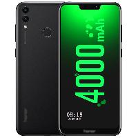 荣耀畅玩8C 移动联通电信全网通4G 全面屏智能老年老人手机 双卡双待 黑色 (4G RAM+32G ROM)
