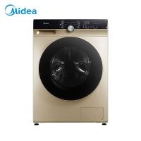 美的 (Midea)滚筒洗衣机全自动 10公斤变频 DD直驱静音 除菌蒸汽洗 真丝柔洗 智能家电 95度筒自洁 MG100KQ5