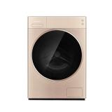 松下 panasonic XQG100-LD1NY全自动洗烘一体机纳米水离子除味高端洗护一体机