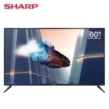 夏普(SHARP)60B3RZ 60英寸 日本原装面板4K超高清 杜比音效 BT语音 智能网络液晶电视机
