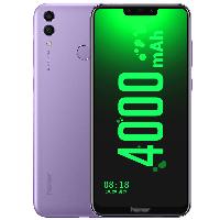 荣耀畅玩8C 移动联通电信全网通4G 全面屏智能老年老人手机 双卡双待 星云紫 (4G RAM+128G ROM)