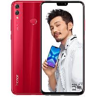 荣耀8X 移动全网通4G 全面屏智能手机 魅焰红 (4G RAM+64G ROM)