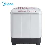 美的(Midea)洗衣机半自动 8公斤双桶双缸 强力洗涤 MP80-DS805