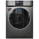 TCL 10公斤直驱全自动变频洗烘一体滚筒洗衣机 整机保修三年 1.08洗净比 (星曜灰)G100V200-HD
