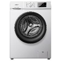 容声 滚筒洗衣机全自动 超薄 7公斤 小型迷你 一级能效 95℃高温洗 智能洗 婴童洗 RG7108