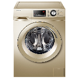 统帅(Leader) 海尔出品 10公斤滚筒全自动洗衣机高温洗 变频电机 ABT双喷淋TQG100-@BX1266G