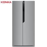 【WM】康佳(KONKA)383升薄壁技术 风冷无霜 对开门电冰箱 电脑温控 节能保鲜 两门家用 双开门 BCD-383WEGY5S