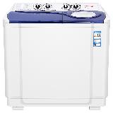 TCL 13公斤 半自动双缸波轮洗衣机 RIA桶风干双桶洗脱分离 喷淋漂脱(芭蕾白)XPB130-2738S