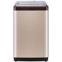 容声(Ronshen) 8公斤 全自动波轮洗衣机 大容量 立体喷瀑 10大程序 护衣内桶 静音 金RB80D1321G