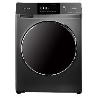 康佳(KONKA)10公斤直驱变频全自动滚筒洗衣机 16档洗涤程序 大屏触摸显示 XQG100-BD14365S