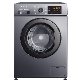 创维(SKYWORTH) 8公斤滚筒洗衣机全自动 变频电机 一级能效 99.99%除菌除螨 超薄嵌入 XQG80-B15MC