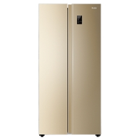 海尔 (Haier )480升风冷无霜变频对开门冰箱90°开门悬停 厨装一体BCD-480WBPT