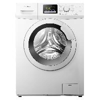 容声8公斤 全自动变频滚筒洗衣机 零水压 羊毛洗 95℃高温煮洗 婴幼护洗 RG80D1202BW