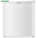 容声(Ronshen) 43升 小型迷你单门电冰箱 制冰 一级节能静音 家用客厅宿舍租房 珍珠白 BC-43KT1