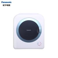 松下(Panasonic) 2公斤恒温家用滚筒干衣机烘干机 即干即穿 速干免熨烫 远离梅雨天NH-202GT白色