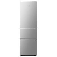 康佳(KONKA)212升 三门 风冷无霜冰箱 家用租房 小型电冰箱 静音节能 电脑温控(星辰银)BCD-212WEGY3S