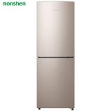 容声(Ronshen) 182升 小型双门两门电冰箱 风冷无霜 节能静音省电 大冷冻  星砂金 BCD-182WD11D