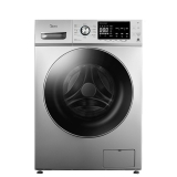美的(Midea)滚筒洗衣机全自动 智能家电10公斤变频  家用大容量上排水 MG100-1451WDY