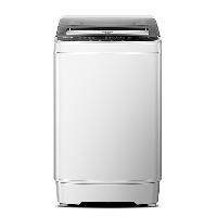 荣事达(Royalstar) 洗衣机 6.5公斤全自动波轮洗衣机 强力去污家用小型宿舍租房一键脱水 透明灰ERVP191013T