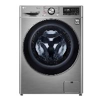 LG 9公斤滚筒洗衣机全自动 AI变频直驱 470mm超薄机身 蒸汽洗PLUS除菌除皱 速净喷淋 碳晶银FCV90G2T