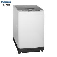 松下(Panasonic)全自动波轮洗衣机9公斤 超快速清洗 节水立体漂 桶洗净 浸泡洗XQB90-TZNB1灰色