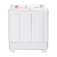 康佳(KONKA)12公斤 半自动波轮洗衣机 大容量 双桶双缸 脱水甩干机 家电(白色)XPB120-7D0S