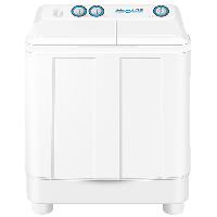 海尔 Haier 9公斤大容量半自动双缸洗衣机 洗大件更轻松 强劲动力 高效洁净 XPB90-699S