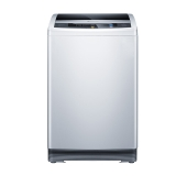 三洋(SANYO)9公斤全自动变频波轮洗衣机 大容量 全模糊智能控制 (亮灰色)V9