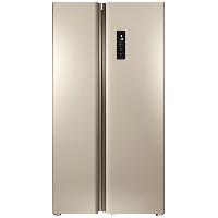 TCL 520升 双变频风冷无霜对开门电冰箱 智慧摆风 制冷均匀双开门电冰箱(流光金)BCD-520WEPZA50