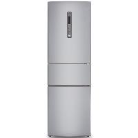 松下(Panasonic)318升典雅银冰箱三门 风冷电冰箱 自由变温室 变频无霜 -3℃微冻保鲜NR-C320WP-S
