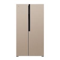 康佳(KONKA)551升 风冷无霜 电脑温控 家用保鲜 两门电冰箱 对开门电冰箱(金色)BCD-551WEGX5S